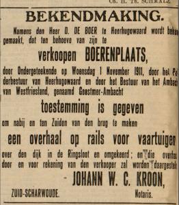 bslissing 0verhaal 1911