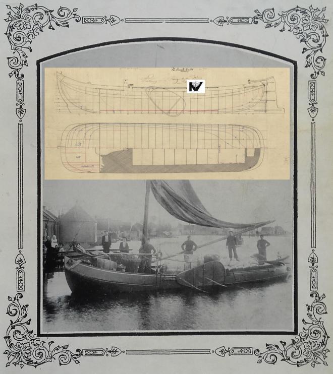 Zelfs de tekening is boven water na 125 jaar.